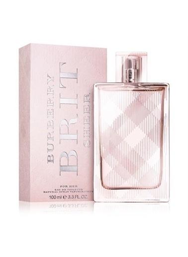 Burberry Burberry Brit Sheer Edt 100 ML Kadın Parfüm Renksiz